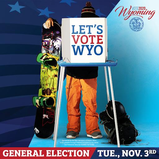 Let's Vote WYO Ad